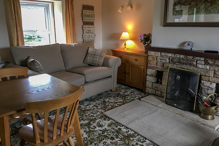 Swaledale Cottage Cosy Living Room