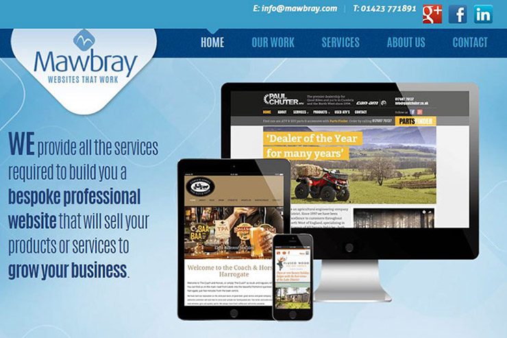 Mawbray Web Design